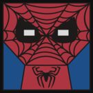 Minimal Spiderman by pruine