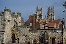 Bootham Bar Gate and York Minster by Yukondick