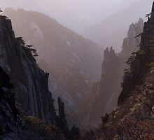 Sunrise on Huang Shan by A. Duncan
