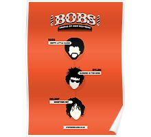 Bobs, ranked by hair neatness Poster