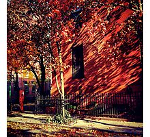Waverly Place Autumn - Greenwich Village, New York City Photographic Print