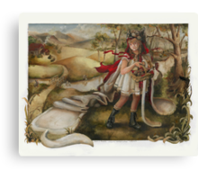Sheep In Wolfish Clothes Canvas Print