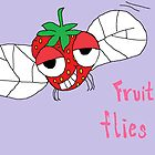 Fruit flies by Affenhase
