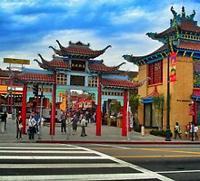 Chinatown Los Angeles by Analia