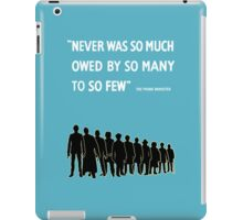 Debt to the Doctor iPad Case/Skin