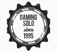 Gaming Solo Shirt by simonrhee