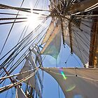 Starburst in the Rigging by Lucy Hollis