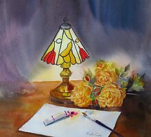The Tiffany lamp by Beatrice Cloake