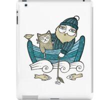 The Fisherman's Cat iPad Case/Skin