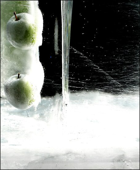 Ice Apples by Elowrey