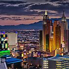 Vegas Lights by RichardBlanton