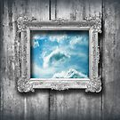Window to the blue by Luisa Fumi