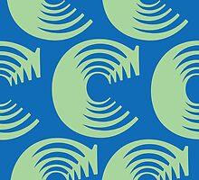 Typographic Continuum X: Caslon C by Jeff Batt