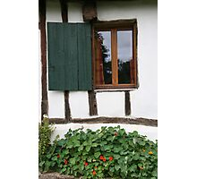 French cottage window Photographic Print