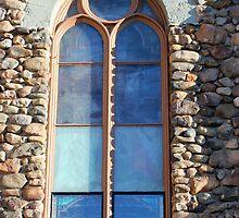 St. Augustine Window by marybedy