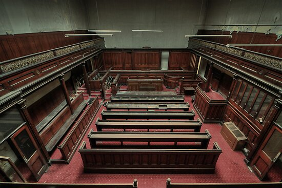 silence in court by Andrew Coogan