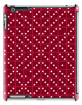 A Maze in Dice - Red by ChunkyDesign