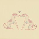 mistletoe sighthounds by laureliz