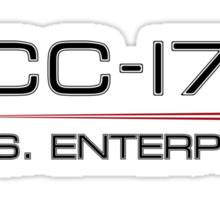 ST Registry Series - Enterprise Alternate Logo Sticker