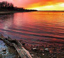 A Colorful Night In Oklahoma by Carolyn  Fletcher