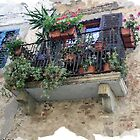 Tuscan Village Balcony. by RodneyCleasby