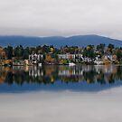 Mirror Lake (New York) by Haz Preena