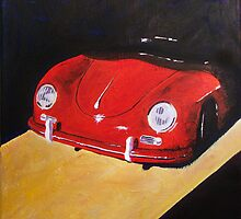 'Speedster Barn Find' 1950's Classic Porsche by Kelly Telfer