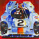 'Porsche Daytona Champion 917' Racing Porsche by Kelly Telfer