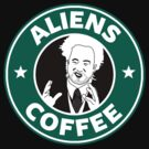 Aliens guy coffee by bomdesignz