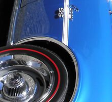 1968 Chevrolet Camaro SS Classic Car by ArtShopEtc