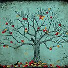 Autumn Apple Tree by EvaBridget