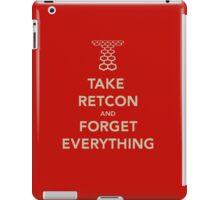 Take Retcon iPad Case/Skin