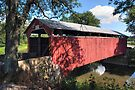 Late Summer View Of The Great Old Bridge by Gene Walls