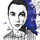 The Big Bang Theory - Sheldon Cooper by LiamShawberry