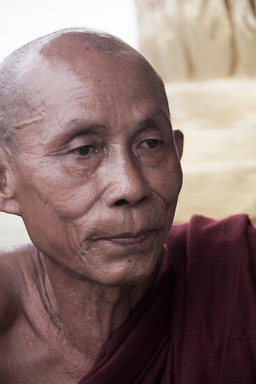 Hpa-An: Monk by Hege Nolan