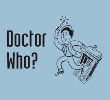Doctor Who? Cartoon by BennH