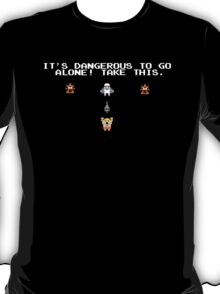 It's Dangerous Out There He-man T-Shirt