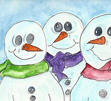 Snow Family by Deb Coats
