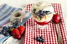 Still Life with Summer Berries by Adriana Glackin