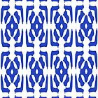 Blue Pattern Wallpaper by haymelter