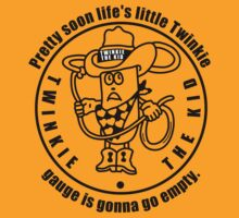 Twinkie the Kid Zombieland quote Little Twinkie gauge shirt by BrBa