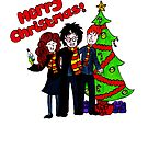 Harry Potter Christmas Design - Merry Christmas! by LittleMizMagic