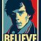 Believe in Sherlock Holmes by Tom Trager
