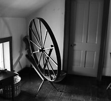 Spinning Wheel by Theodore Kemp