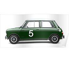 Mini Cooper - Side Profile Poster