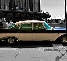 Atlantic Terminal & Vintage Car by depsn1