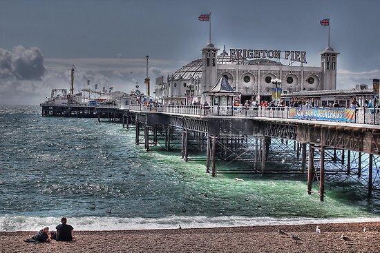 Brighton Pier by Jasna