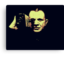 Lost highway - mystery man Canvas Print