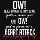 One Direction Heart Attack Lyrics - White Letters by Hannah Julius