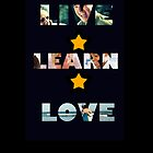 LIVE LEARN LOVE by Rowans Designs